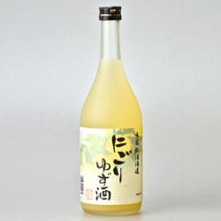松浦 にごりゆず酒 720ml
