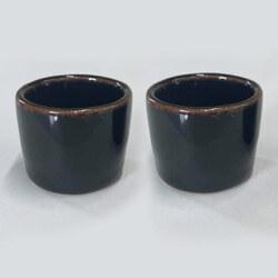 大谷焼 ミニぐい呑み2個