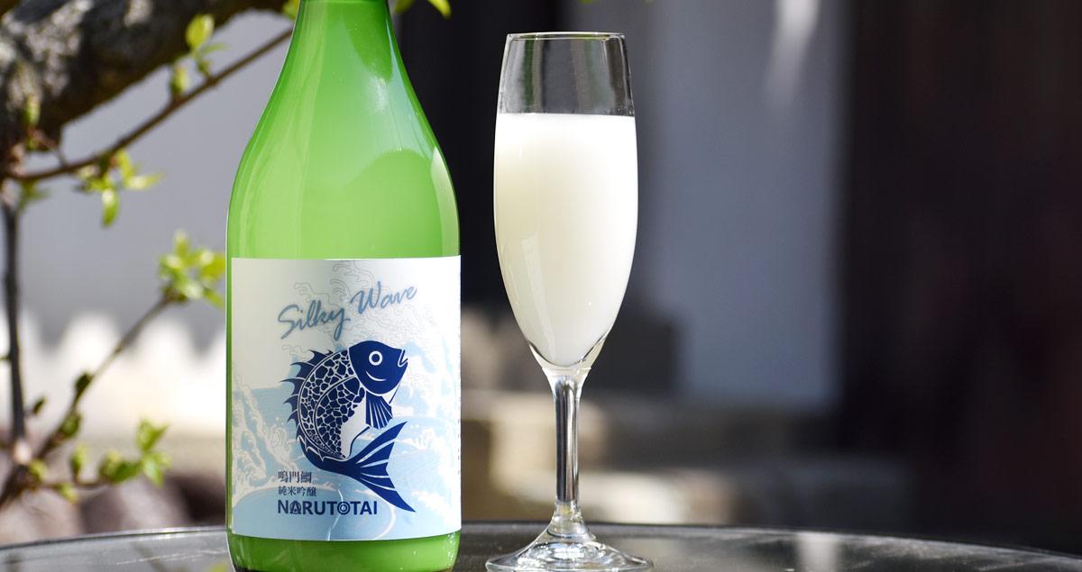 鳴門鯛 純米吟醸にごり酒 SilkyWave