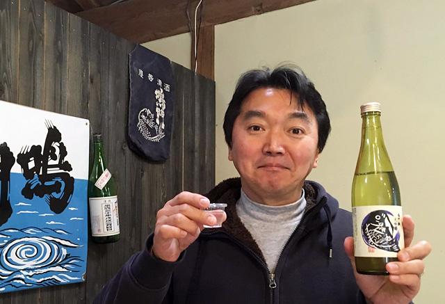 鳴門鯛 大吟醸 斗瓶取り雫酒